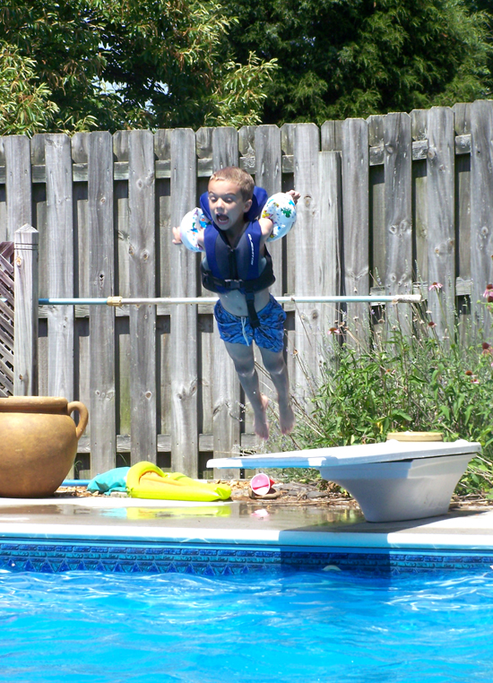 Diving Board Dare Devil