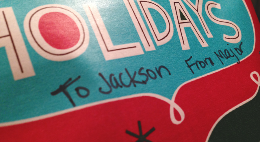 To Jackson from Major
