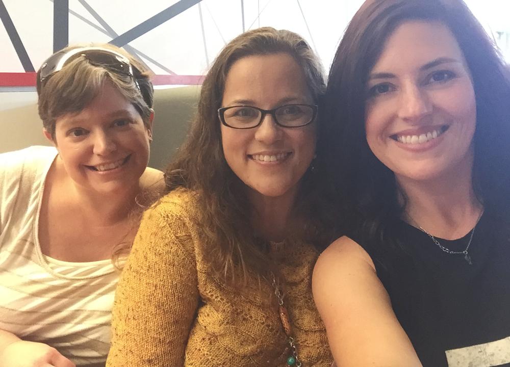 Girls at Flip Burger 2015