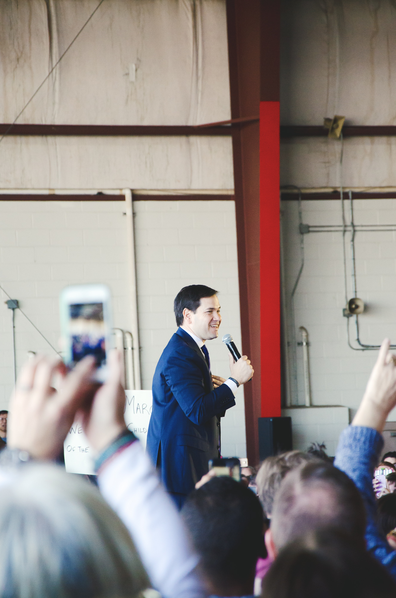 Marco Rubio in Knoxville