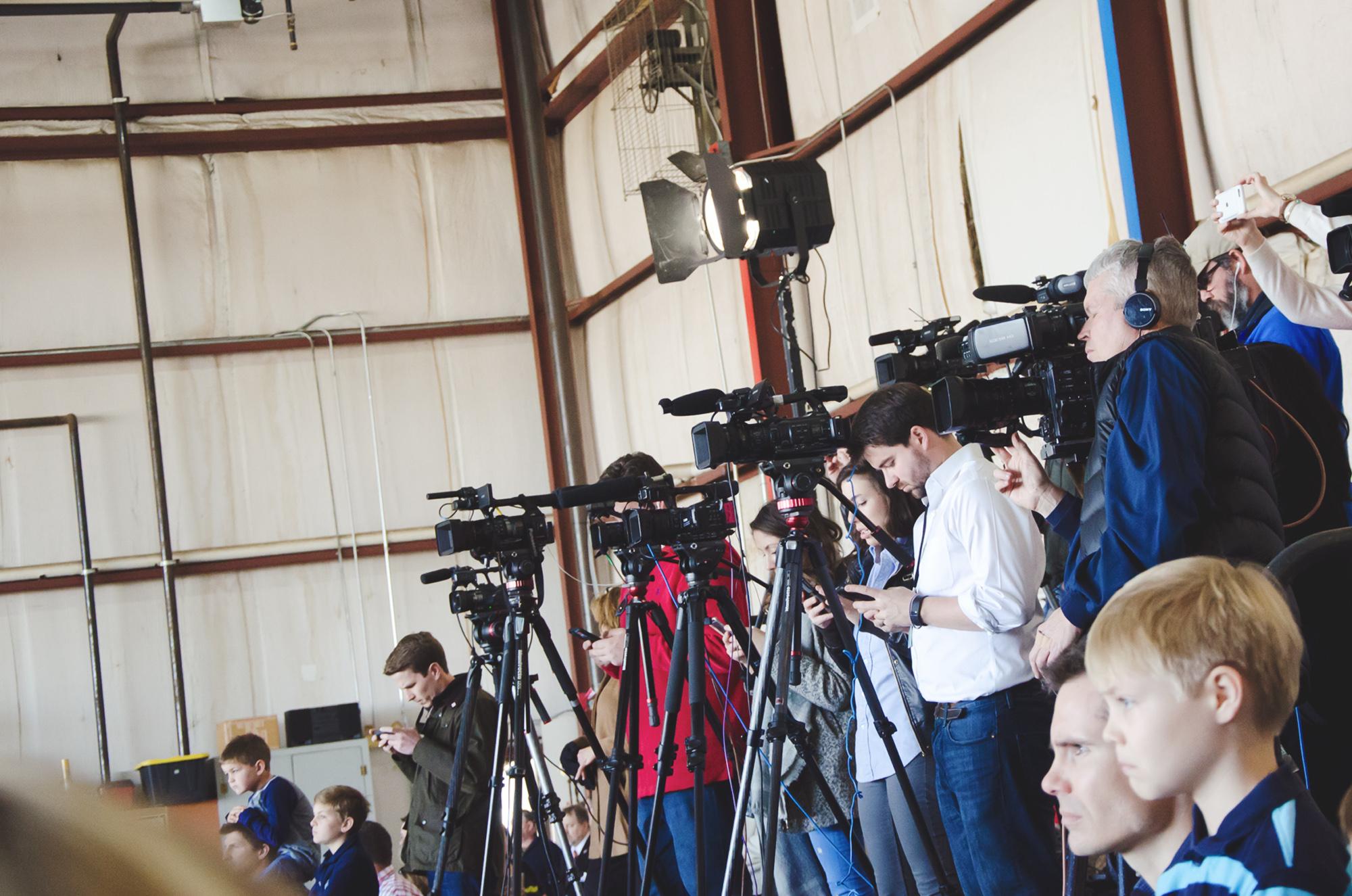 Tweeting journalists