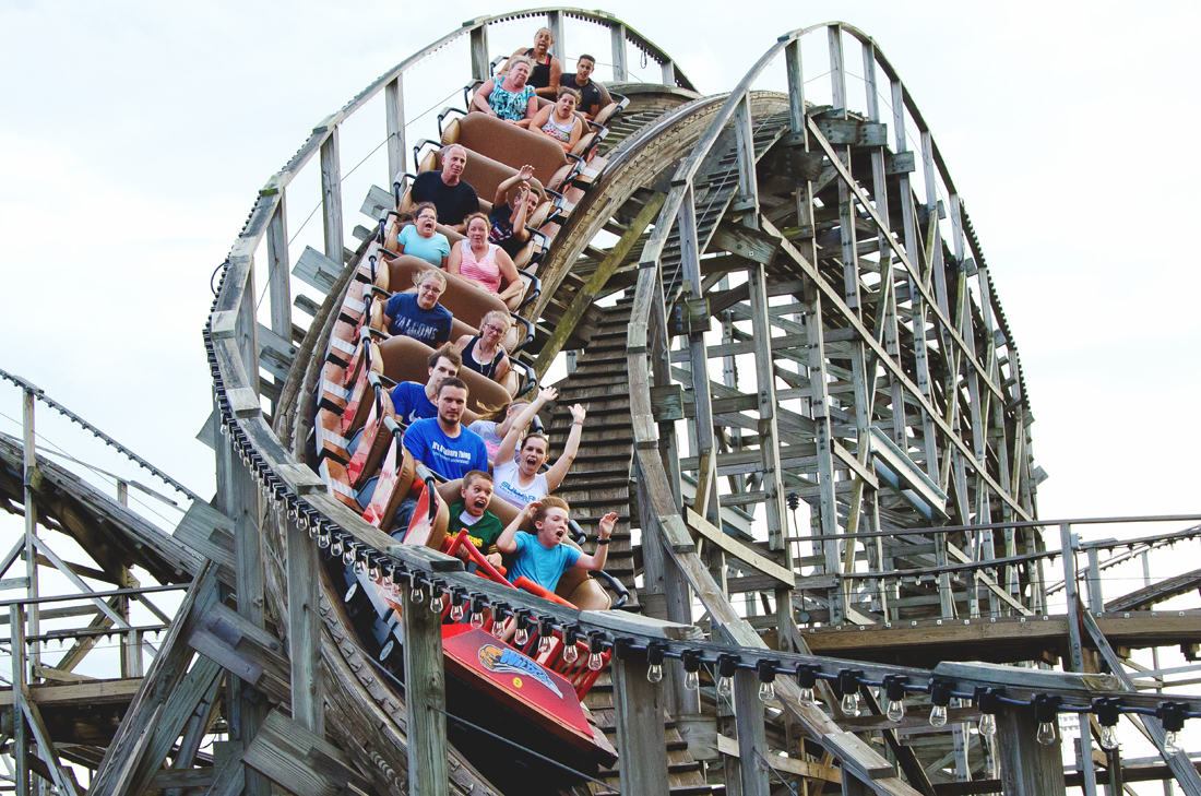 Best photo on the roller coaster
