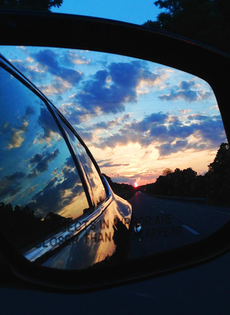 Sunset on Friday June 24