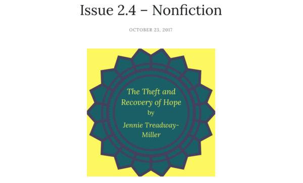 Nonfiction Piece Published