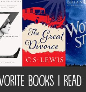 Five Favorite Books I Read in 2017